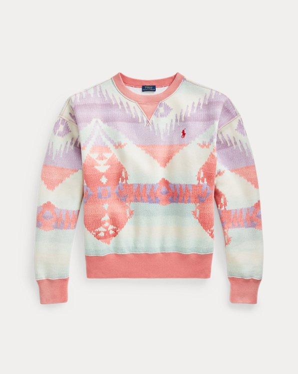 Southwestern Fleece Sweatshirt