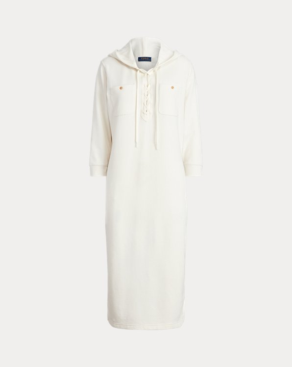 Hooded Terry Dress