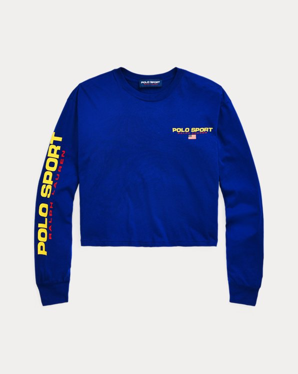 Polo Sport Jersey Crewneck Shirt