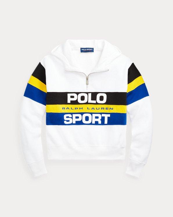 Polo Sport Fleece Quarter-Zip Hoodie