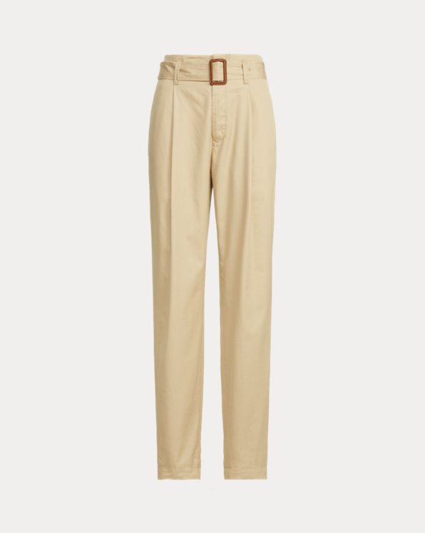 Twill Belted Pant