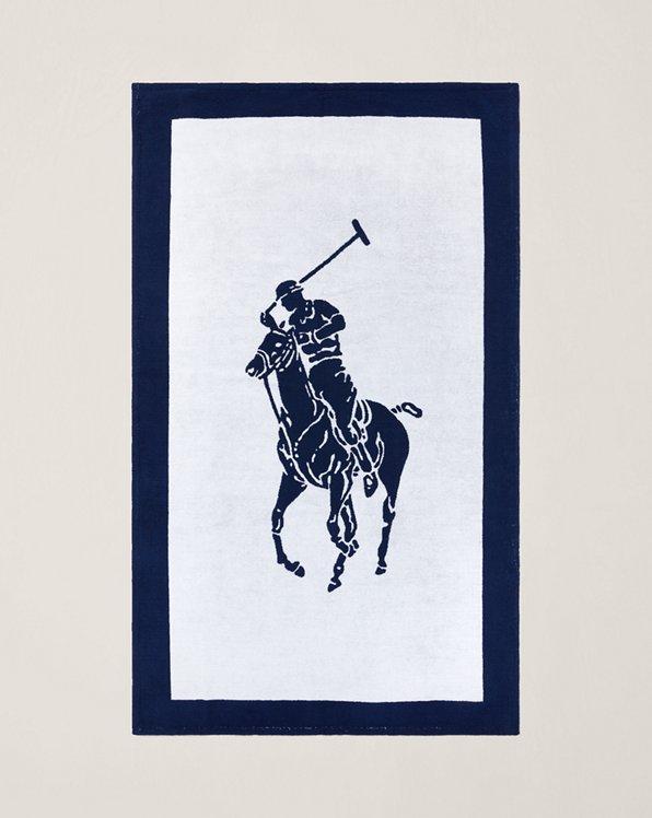 Pony Jacquard Beach Towel