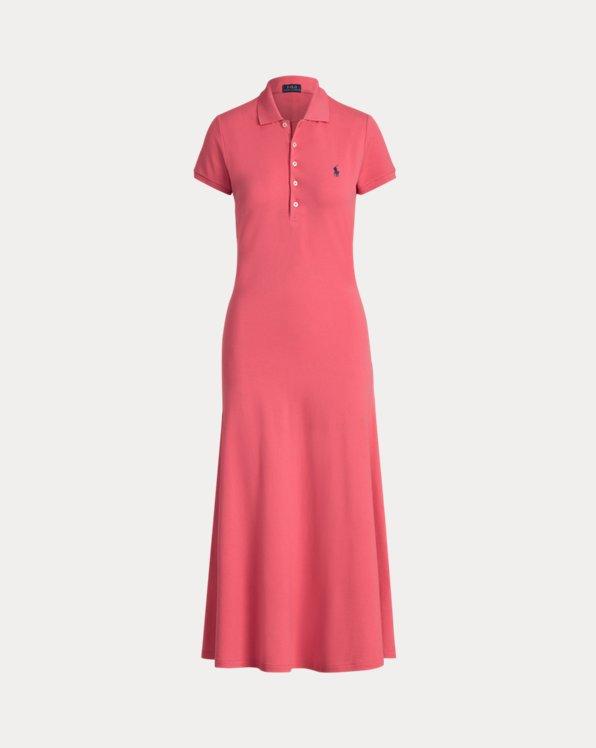 A-Line Polo Shirtdress