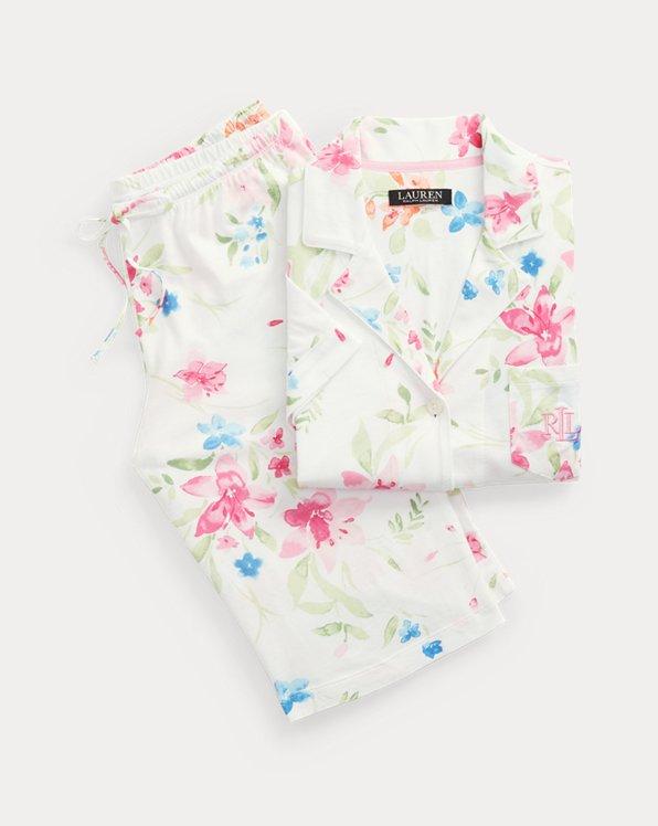 Floral Bermuda Pajama Set