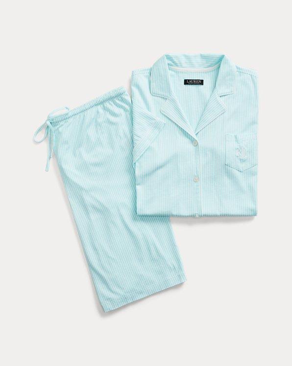Striped Bermuda Pajama Set