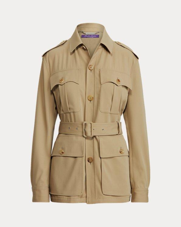 Tasha Wool Gabardine Jacket
