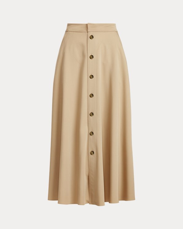 Gerald Wool Gabardine Skirt