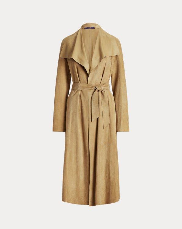 Leonarda Lamb-Suede Coat