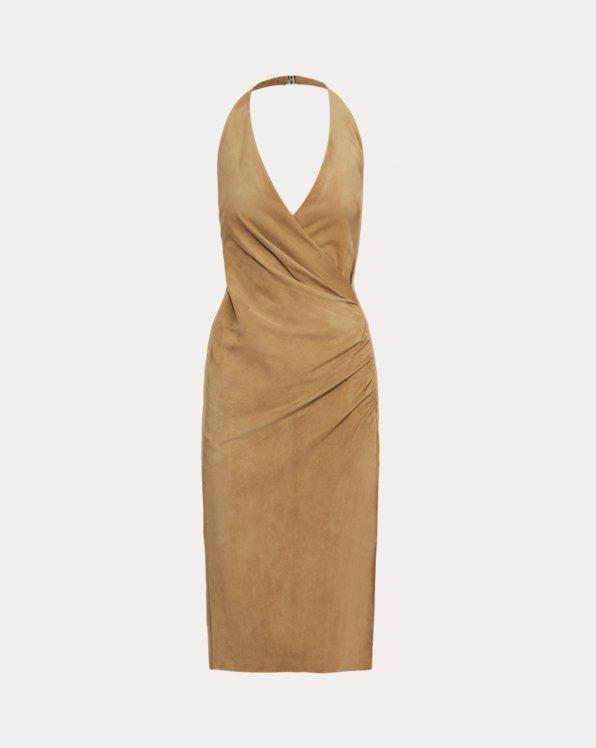 Laura Lamb-Suede Cocktail Dress