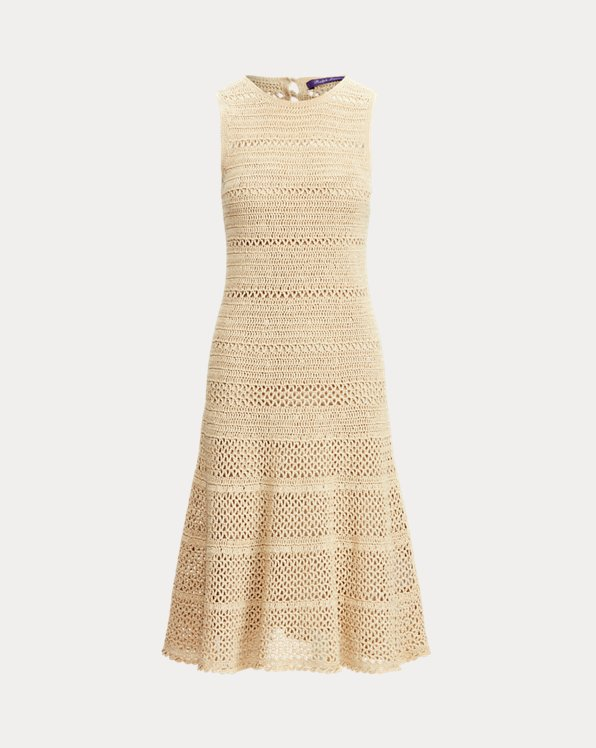 Cotton Crochet Sleeveless Day Dress