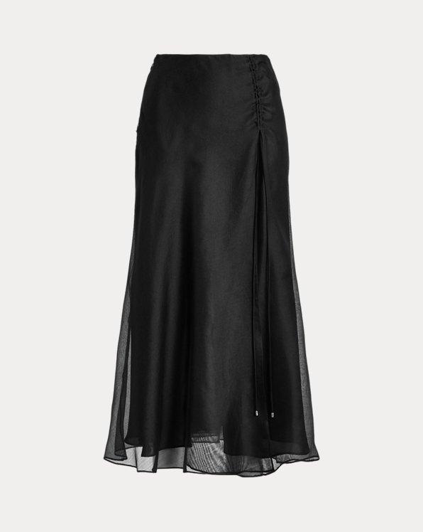 Graciana Silk Gauze Skirt