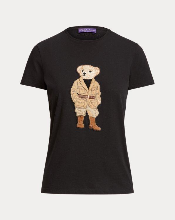 Safari Polo Bear Cotton Tee