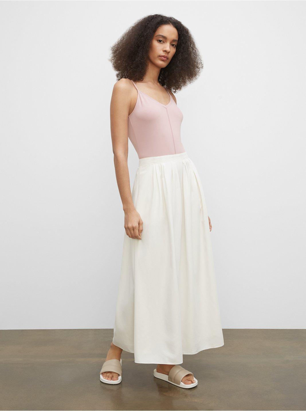Drape Maxi Skirt
