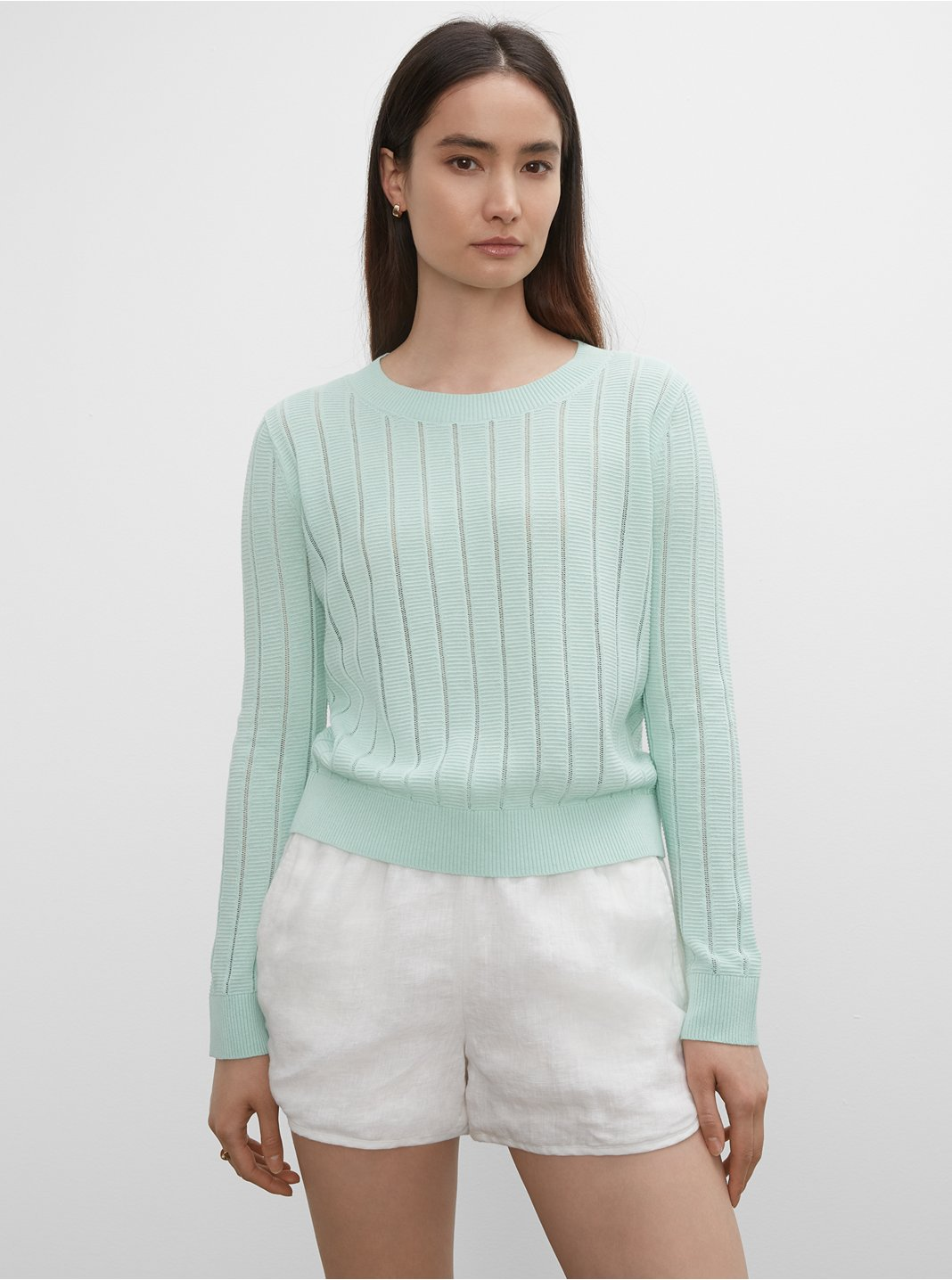 Summer Mesh Sweater