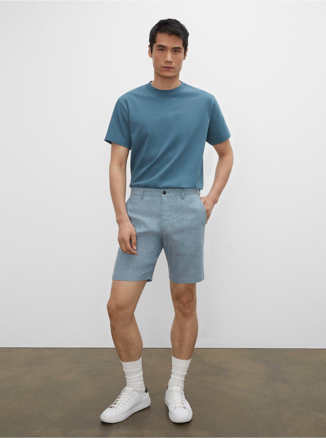 "Maddox Linen 9"" Shorts"