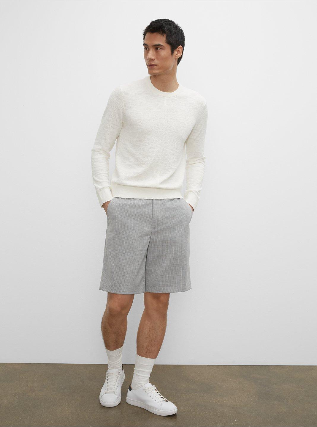 Mini Check Casual Shorts