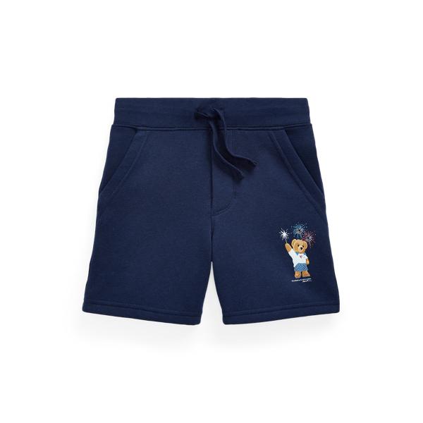 폴로 랄프로렌 남아용 반바지 Polo Ralph Lauren Polo Bear Fleece Short,Cruise Navy