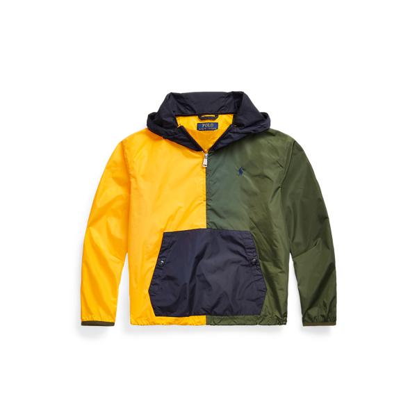 폴로 랄프로렌 Polo Ralph Lauren Water Repellent Hooded Jacket,Army Multi
