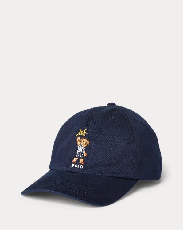 Polo Bear Cotton Twill Ball Cap
