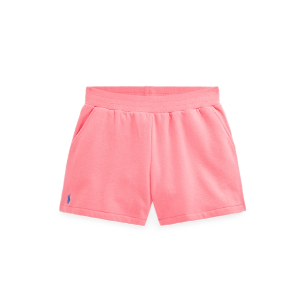 폴로 랄프로렌 걸즈 포니 밴딩 반바지 Polo Ralph Lauren Fleece Pull On Short,Ribbon Pink