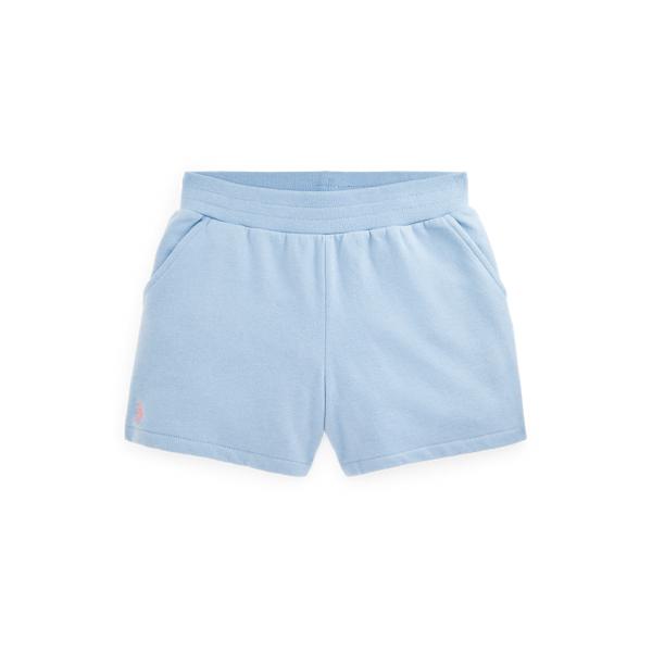 폴로 랄프로렌 걸즈 포니 밴딩 반바지 Polo Ralph Lauren Fleece Pull On Short,Chambray Blue