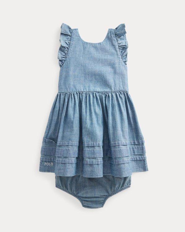 Ruffled Dress & Bloomer