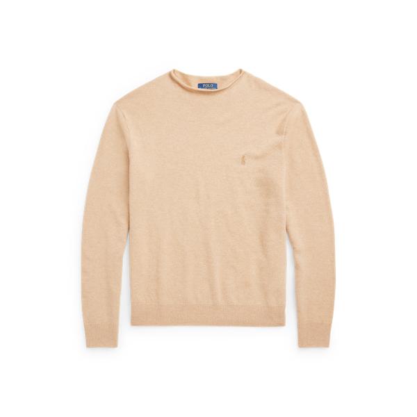 폴로 랄프로렌 맨 울 롤넥 스웨터 Polo Ralph Lauren Wool Rollneck Sweater,Camel Melange