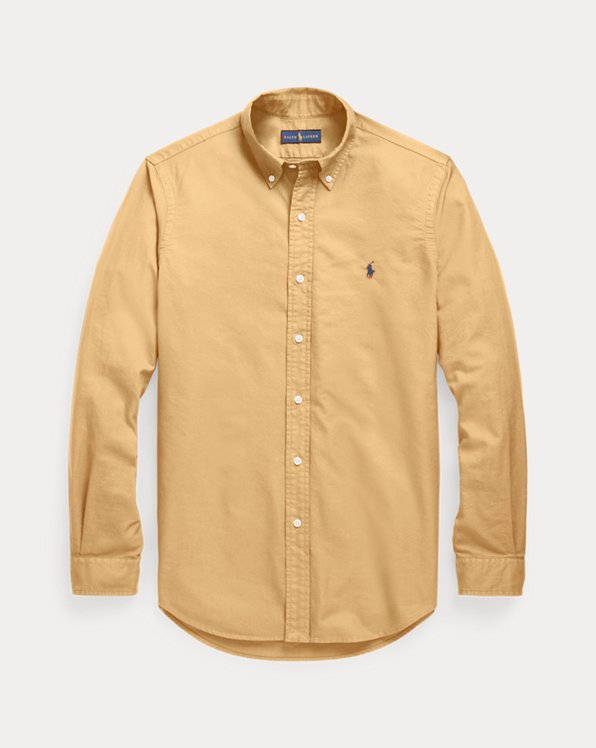 Classic Fit Garment-Dyed Oxford Shirt