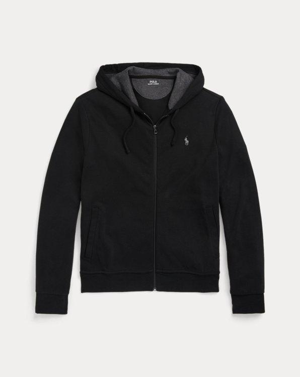 Luxury Jersey Full-Zip Hoodie