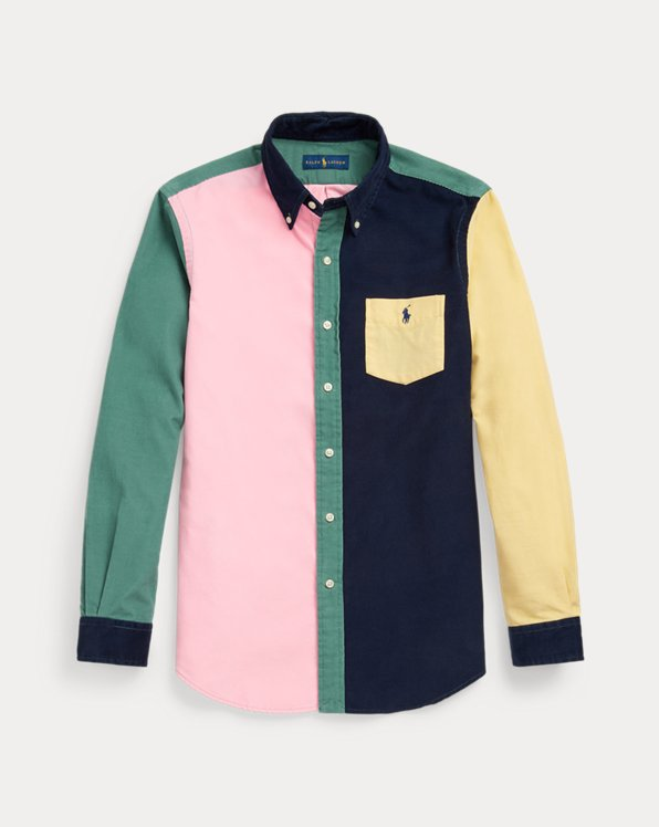 Custom Fit Corduroy Fun Shirt