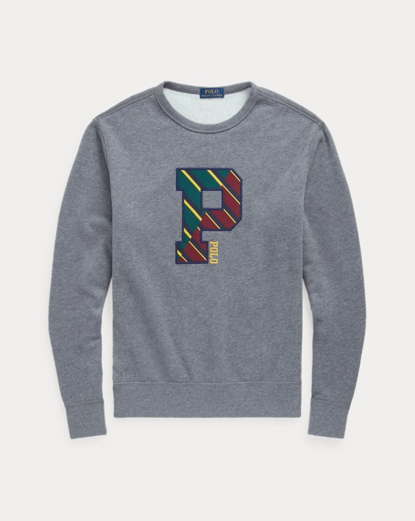 Fleece Letterman Sweatshirt