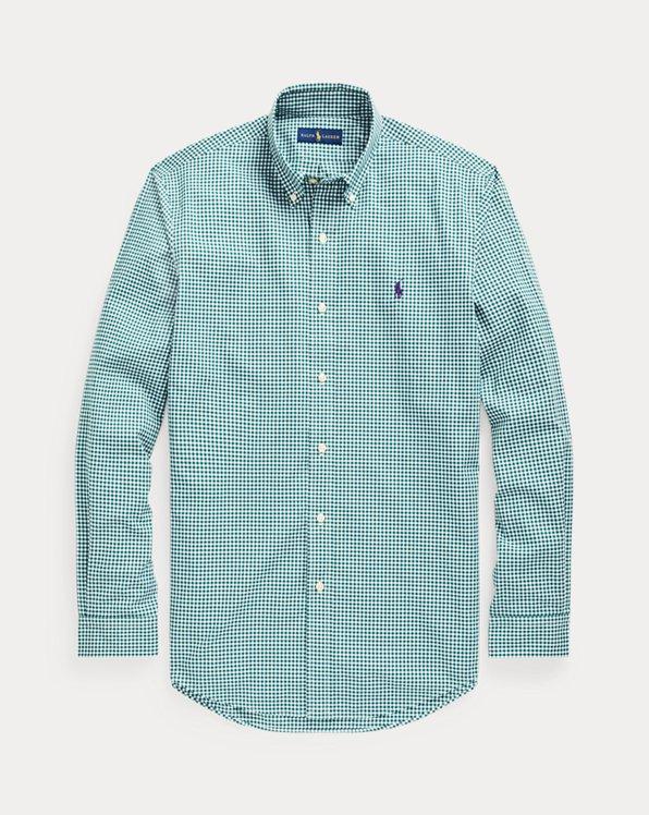 Gestreiftes Custom-Fit Popelinehemd