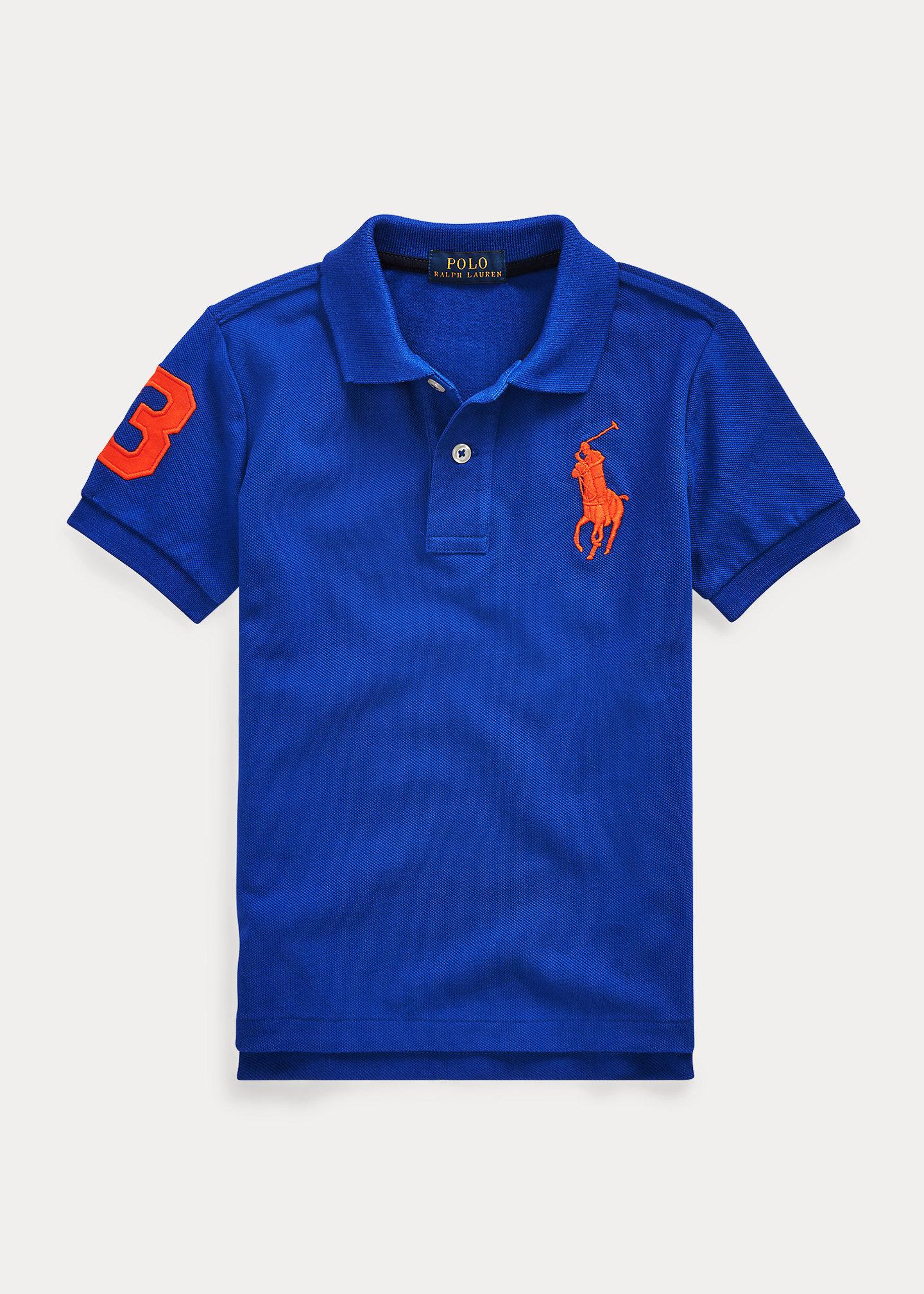 PoloRalphLauren Big Pony Cotton Mesh Polo Shirt