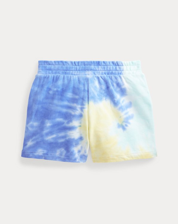 Tie-Dye Cotton French Terry Short