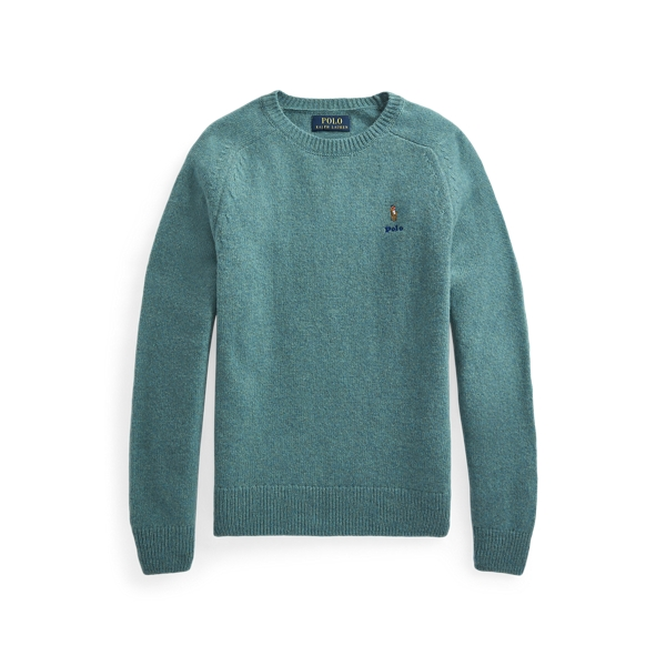 폴로 랄프로렌 Polo Ralph Lauren Wool Cashmere Sweater,Shetland Blue Heather