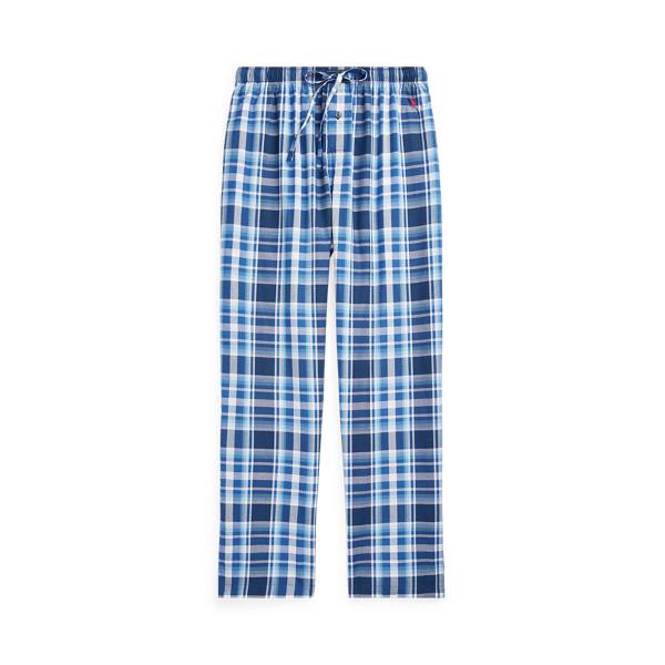 Ralph Lauren Plaid Pajama Pant In Monroe Plaid