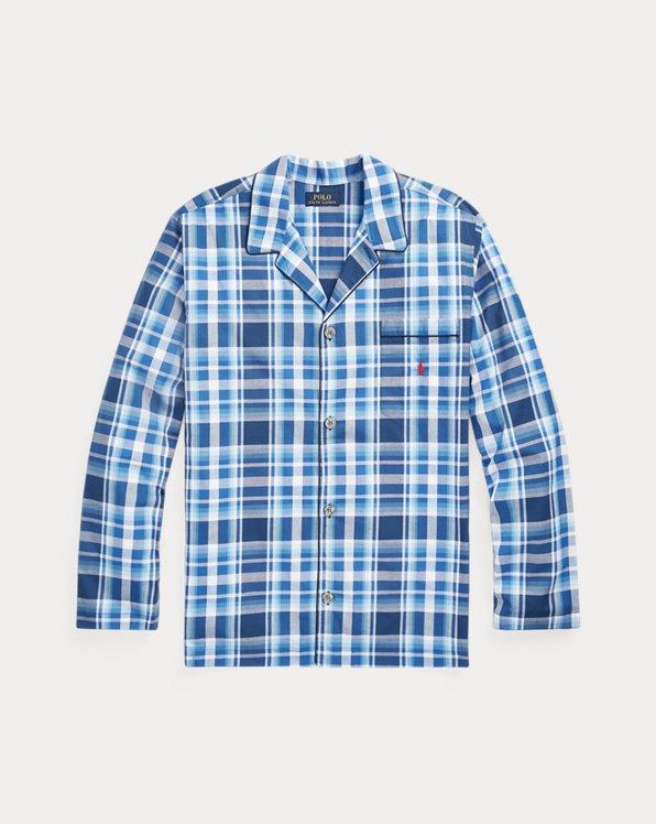 Plaid Pajama Shirt