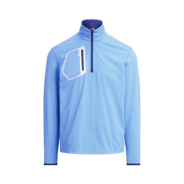폴로 랄프로렌 남성 골프웨어 Polo Ralph Lauren Performance Quarter Zip Pullover,French Blue