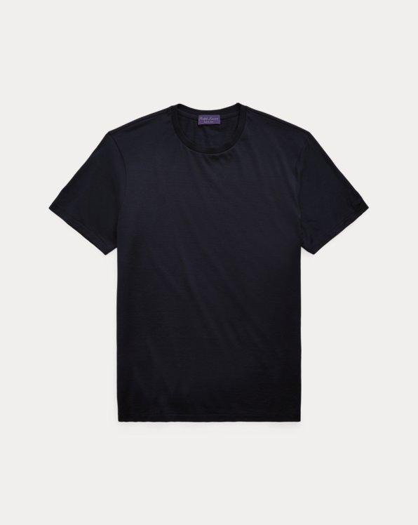 Silk-Blend Jersey T-Shirt