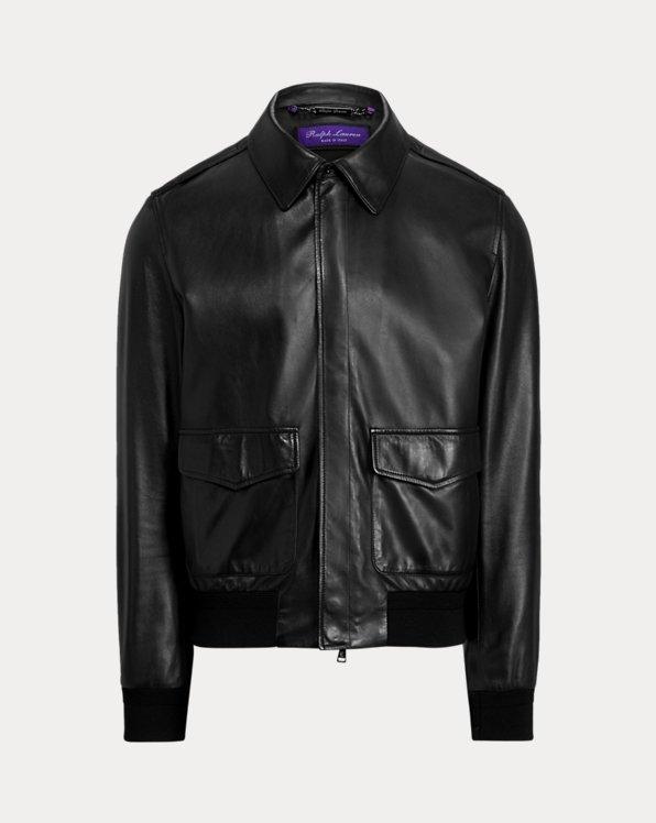 Henfield Plongé Leather Jacket