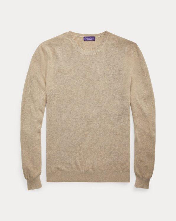 Textured Silk-Cashmere Sweater