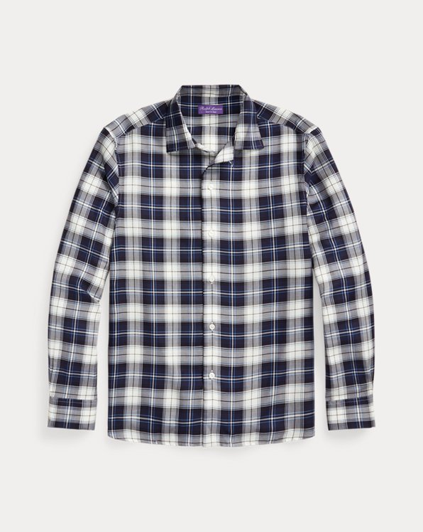 Tartan Twill Camp Shirt
