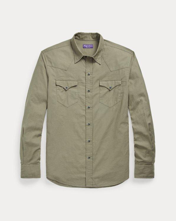 Herringbone Western Shirt