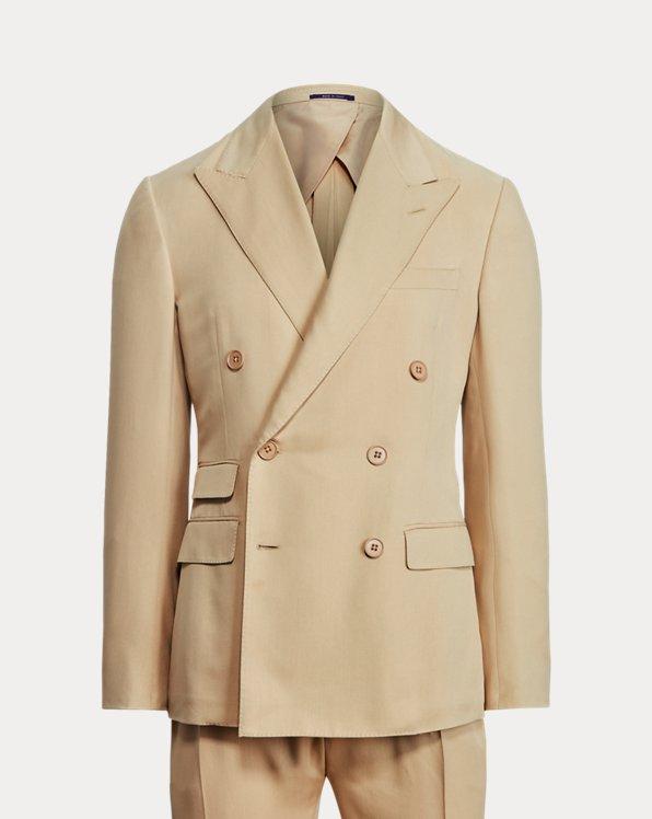 Kent Handmade Silk Gabardine Suit