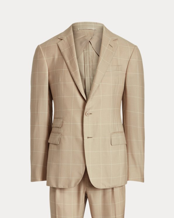 Kent Handmade Checked Cashmere Suit
