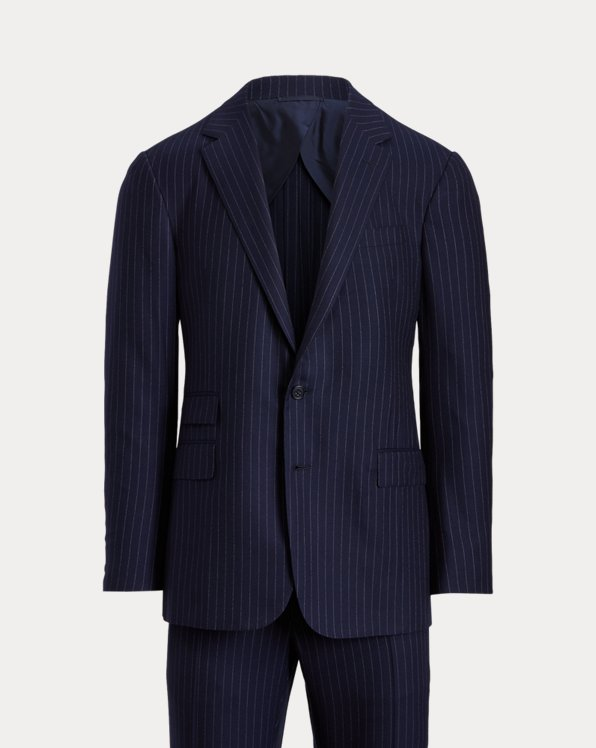 Kent Handmade Pinstripe Wool-Blend Suit