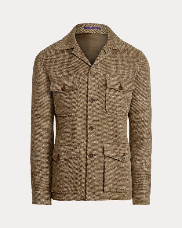 Linen-Silk Twill Jacket