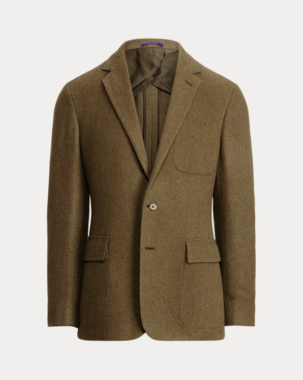 Hadley Silk-Blend Herringbone Sport Coat