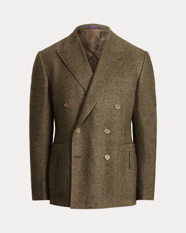 Kent Basket-Weave Wool-Silk Sport Coat