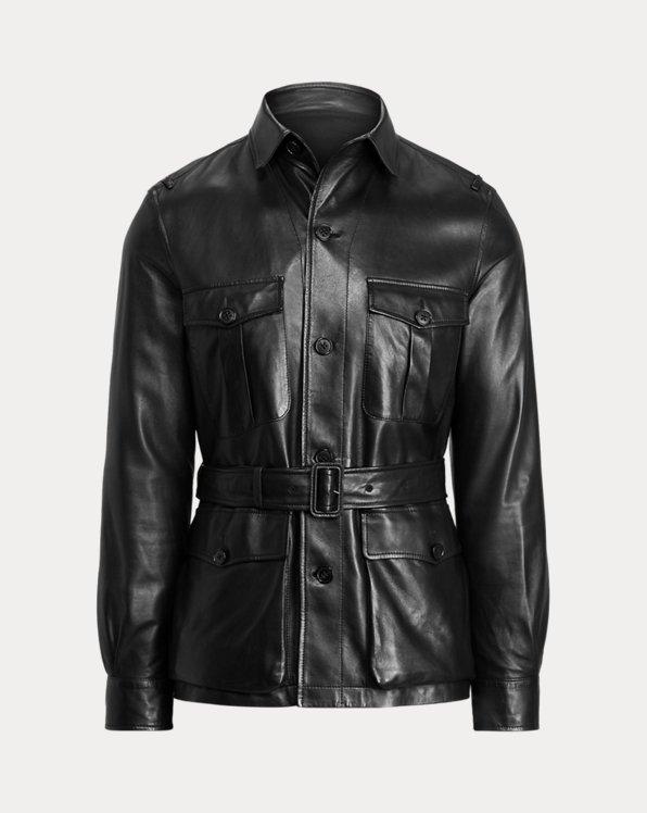 Plongé Leather Sport Coat